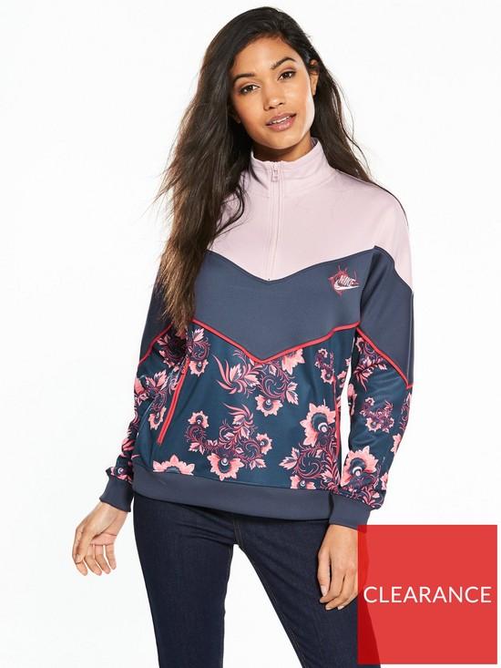 695d088ac4 Nike Sportswear Russian Floral Track Jacket