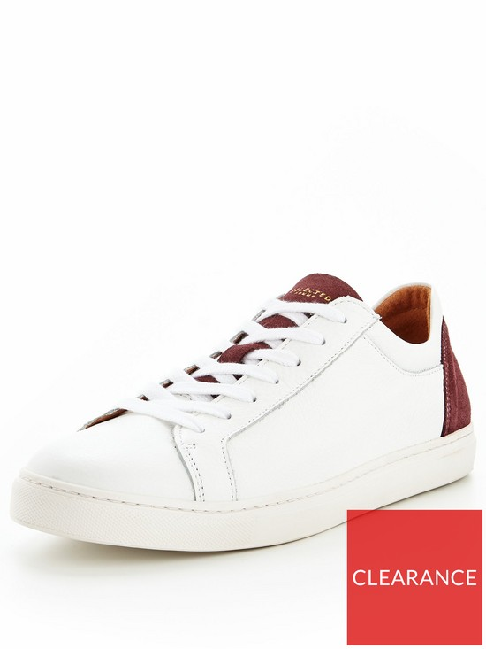 17e7c5329bf Selected Homme Selected Homme David Contrast Sneaker Trainer