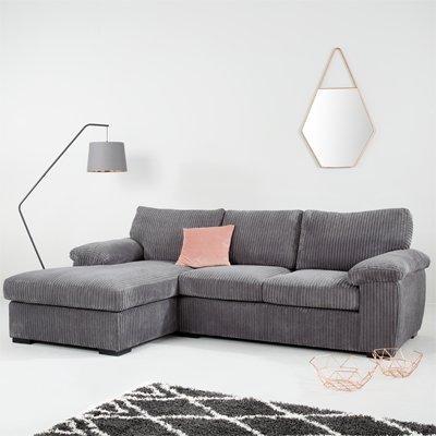 Grey Fabric Sofas | Corner, Recliner & More | Very.co.uk
