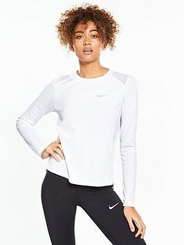 nike-running-dry-miler-long-sleeve-top-white