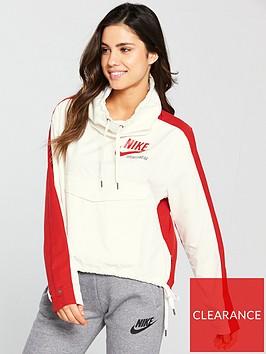nike-sportswear-archive-overhead-jacket-creamrednbsp