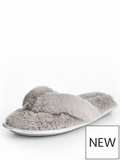 v-by-very-kym-fluffy-toe-post-slipper-pale-grey