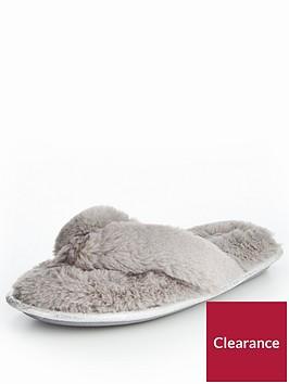 v-by-very-kym-fluffy-toe-post-slipper-pale-grey