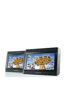 Nextbase 9 inch Twin Portable In-Car DVD Players with with Free Set Of Nextbase IR Headphones