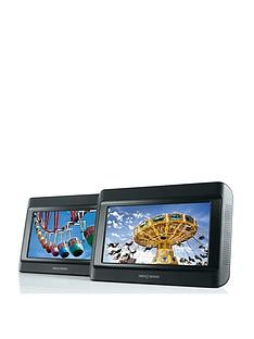 Nextbase 9 inch Dual In-Car DVD Players with with Free Set Of Nextbase IR Headphones
