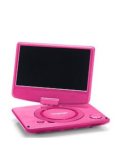 Nextbase Voyager 9 inch Pink Portable DVD Player (Clamshell Design)