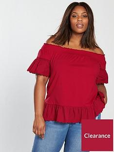 v-by-very-curve-jersey-cotton-hem-bardot-top-burnt-rednbsp