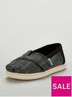 6df5de962d5 Toms Toms Alpargata Textured Chambray Strap Shoe