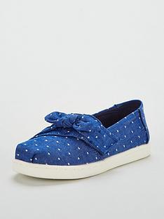 c5b27585e Toms Chambray Strap Shoe