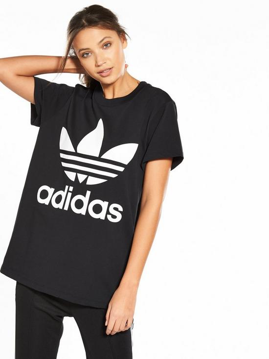 de98cc02b85c adidas Originals adicolor Big Trefoil Tee - Black
