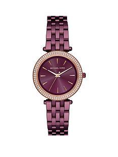 michael-kors-mk3725nbspmini-darcinbspplum-ip-stainless-steel-bracelet-ladies-watch