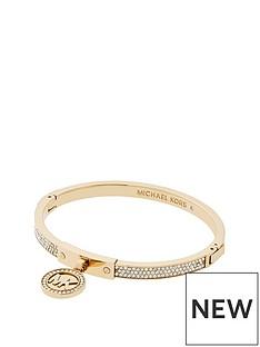michael-kors-michael-kors-pvd-gold-plated-clear-mk-logo-hinged-bracelet