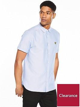 lyle-scott-classic-short-sleeved-oxford-shirt