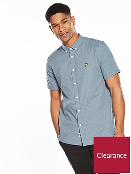 lyle-scott-short-sleeved-multi-coloured-running-stitch-shirt