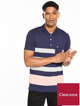 lyle-scott-lyle-amp-scott-wide-stripe-polo-shirt