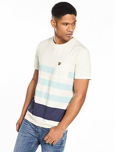 lyle-scott-lyle-amp-scott-wide-stripe-t-shirt