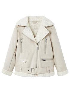 mango-girls-faux-shearling-jacket
