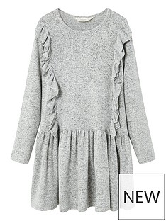 mango-girls-textured-ruffled-dress