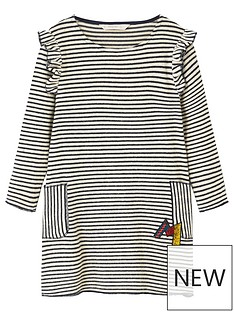 mango-girls-stripe-ruffle-jersey-dress