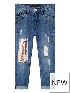 mango-girls-sequin-patch-jean