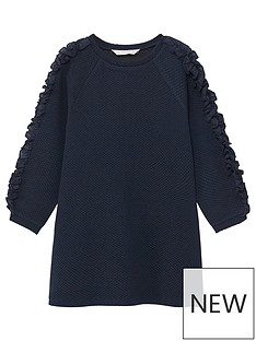 mango-girls-textured-ruffle-dress