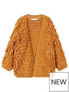 mango-girls-metallic-knitted-cardigan