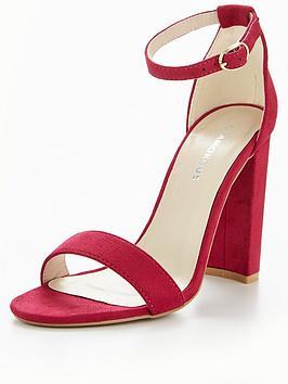 Glamorous Heel Sandal - Pink