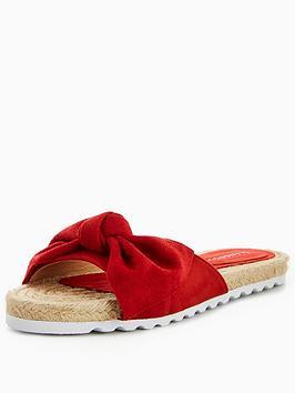 Glamorous Bow Slider - Red