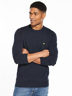 lyle-scott-lyle-amp-scott-textured-stripe-jumper