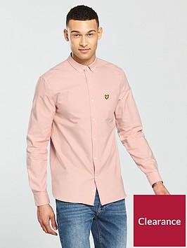 lyle-scott-classic-long-sleeve-oxford-shirt