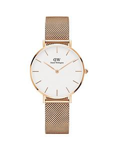 daniel-wellington-daniel-wellington-petite-melrose-rose-gold-white-face-32mm-case-rose-gold-mesh-strap-ladies-watch