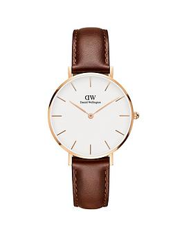 daniel-wellington-daniel-wellington-classic-petite-st-mawes-rose-gold-white-face-32mm-case-with-brown-leather-strap-ladies-watch