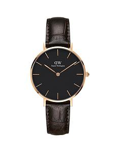 daniel-wellington-daniel-wellington-classic-petite-york-rose-gold-black-face-32mm-case-brown-leather-strap-ladies-watch