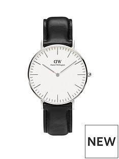 daniel-wellington-daniel-wellington-sheffield-silver-36mm-case-black-leather-strap-unisex-watch