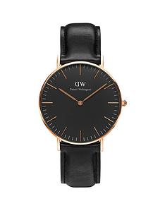 daniel-wellington-black-sheffield-rose-gold-black-leather-strap-unisex-watch
