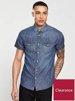 wrangler-wranglerwestern-denim-short-sleeved-shirt