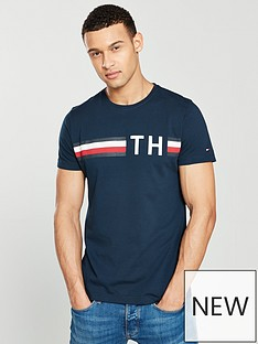 tommy-hilfiger-striped-logo-t-shirt
