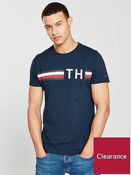 tommy-hilfiger-striped-logo-t-shirt