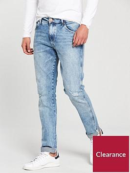 wrangler-wrangler-larston-distressed-slim-tapered-jeans