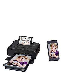 Canon Selphy Cp1300 Compact Wifi Photo Printer Black With Ink And 36 X Paper - Photo Printer With Rp-108 Ink And 108 X Paper