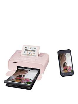 canon-selphy-cp1300-compact-wifi-photo-printer-pink-with-ink-and-108x-paper