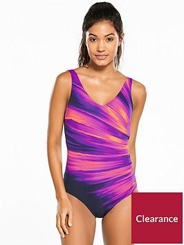 speedo-vivapool-1-piece-swimsuit-navypink