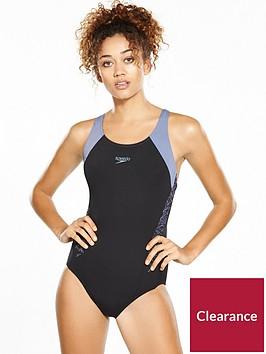 speedo-boom-splice-racerback-swimsuit-blackgrey