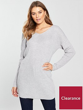 v-by-very-cross-back-v-neck-tunic