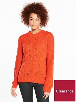 v-by-very-pointelle-blouson-sleeve-jumper