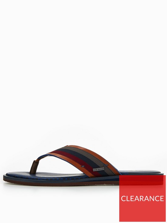 46b01ff64473 ... Ted Baker Knowlun Toe Post Mule. View larger