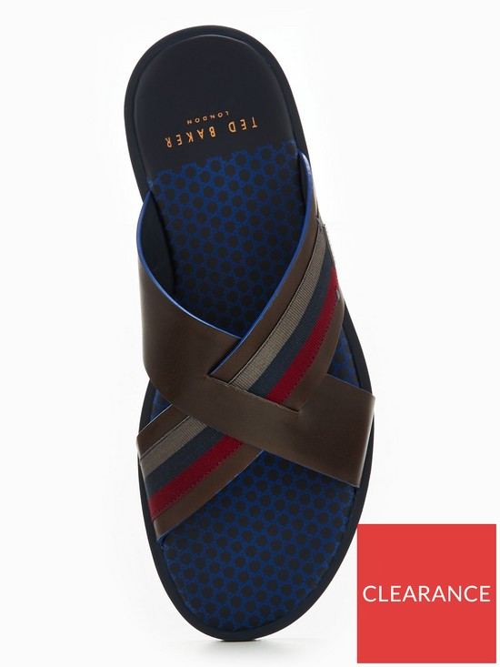 7733ab7d2fe4 ... Ted Baker Farrull Crossover Mule. View larger