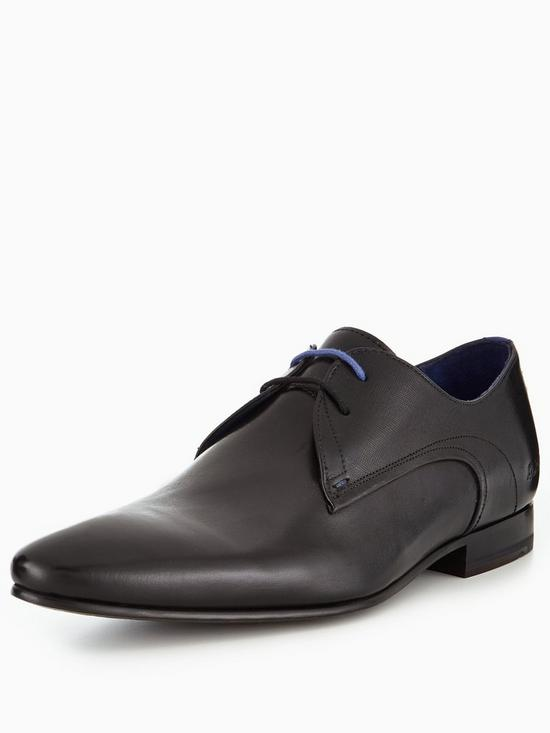 ea48ee12a962f7 Ted Baker Peair Lace Up Brogue Shoe - Black | very.co.uk
