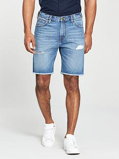 lee-jeans-rider-cutt-off-denim-short
