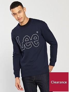 lee-jeans-logo-sweatshirt